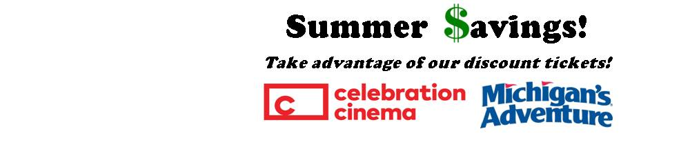 SUMMER SAVINGS. TAKE ADVANTAGE OF OUR DISCOUNT TICKETS.